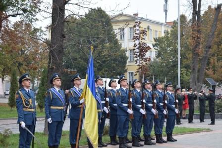 На Вінниччині в рамках відзначення Дня захисника України та Дня Українського козацтва вшанували пам'ять полеглих героїв